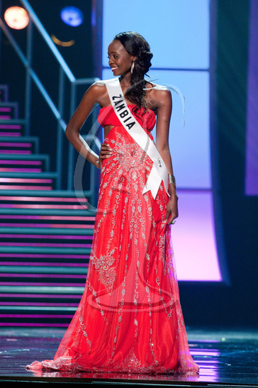 Zambia - Preliminary Competition Gown