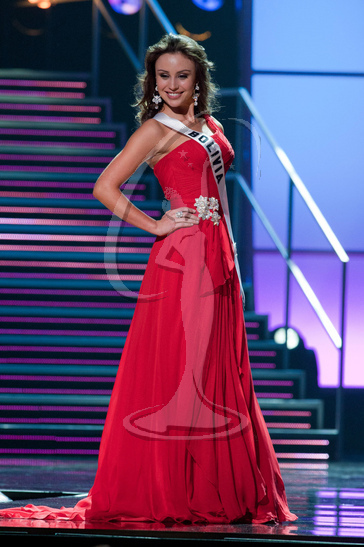 Bolivia - Preliminary Competition Gown