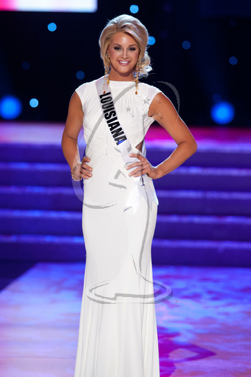 Louisiana - Preliminary Competition Gown
