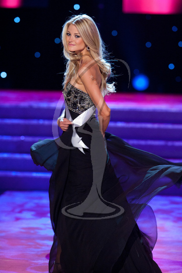 Michigan - Preliminary Competition Gown
