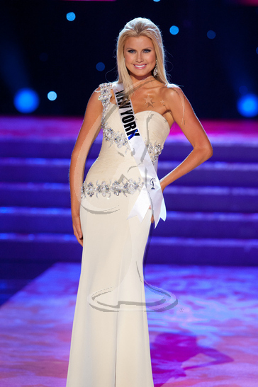 New York - Preliminary Competition Gown