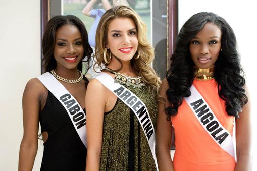 Valentina Ferrer: Miss Universe Argentina 2014