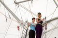 Flying Class at the Trapeze School of New York!
