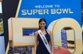 Miss Universe at Super Bowl 50 Events
