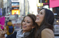Miss Universe and Miss USA in Times Square
