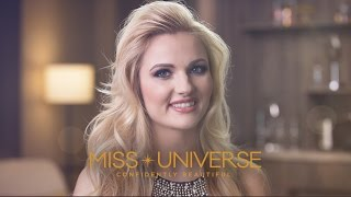 Up Close Miss Universe Slovenia Lucija Potocnik