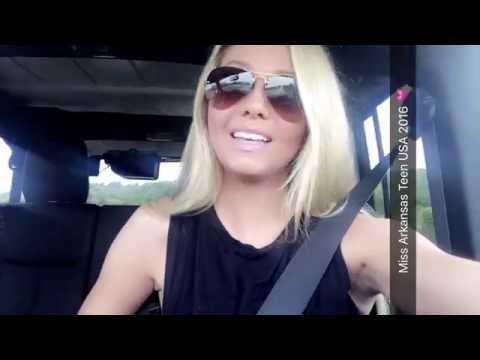 Snapchat Takeover Makenzie Sexton Miss Arkansas Teen USA 2016
